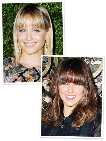 Dianna Agron - Sophia Bush - New Hair