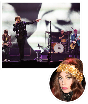 Rolling Stones Lady Gaga