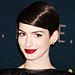 Found It! Anne Hathaway's Deep Wine Lipstick