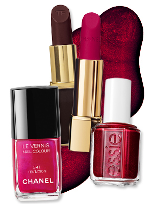 Lipsticks and Nail Polishes