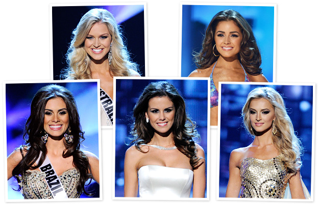 Miss Universe 2012 Hairstyles