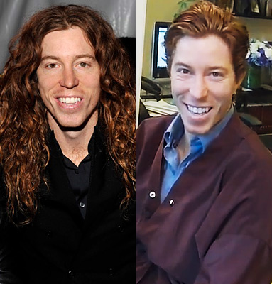 Shaun White Haircut