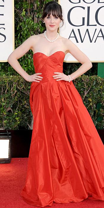 Zooey Deschanel Golden Globes 2013 Zooey Deschanel - 2013...