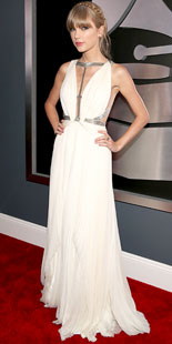 Taylor Swift at Grammys 2013
