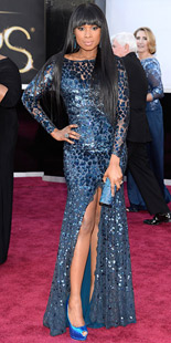 Jennifer Hudson in Roberto Cavalli