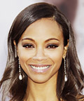 Zoe Saldana's Drop Earrings
