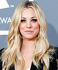 Kaley Cuoco - Celebrity Beauty Tip - Graphic Eye Shadow