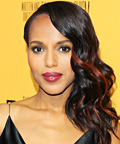 Kerry Washington - Celebrity Beauty Tip - Graphic Manicure