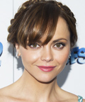 Celebrity Beauty Tip - Christina Ricci - Milkmaid Braid