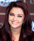 Aishwarya Rai - Celebrity Beauty Tip - Subtle Red Hair