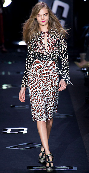 Diane Von Furstenberg, Fashion Week