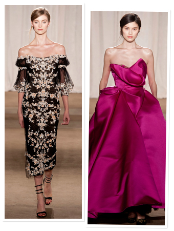Marchesa, Fashion Week 
