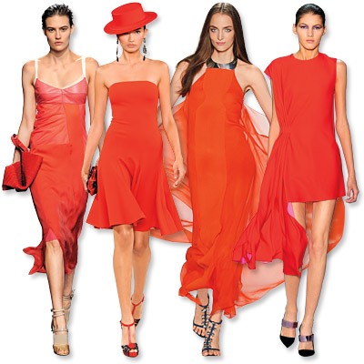 Spring 2013 Fashion Trends: The Hottest Color of the Season - Spring