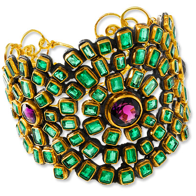 Judy Geib - emerald - cuff - we're obsessed