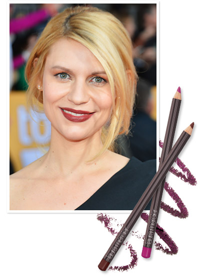 Look of the Day photo | Claire Danes's '90s Throwback Lip
