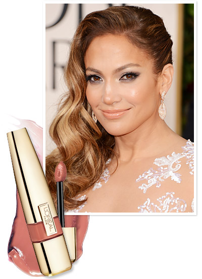 Look of the Day photo | Jennifer Lopez's Nude Lip Gloss