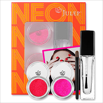 Look of the Day photo | Julep Neon Nail Dips Kit