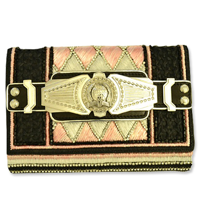 Balmain - clutch - we're obsessed