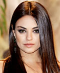 Mila Kunis's Steel Eye Shadow