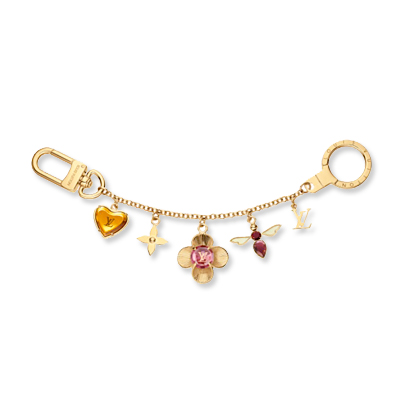 Louis Vuitton - bag charm - we're obsessed