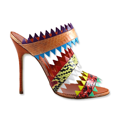 Manolo Blahnik - sandal - we're obsessed