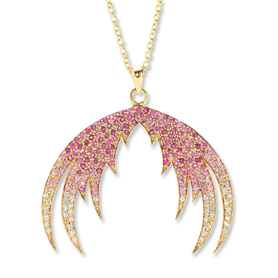 House of Waris - sapphire - necklace - we're obsessed