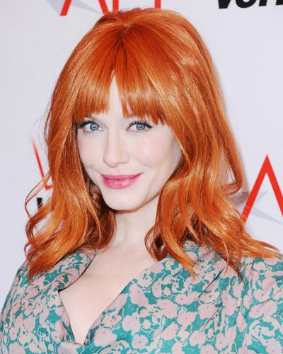 Best Bangs - Christina Hendricks
