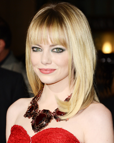 Best Bangs - Emma Stone