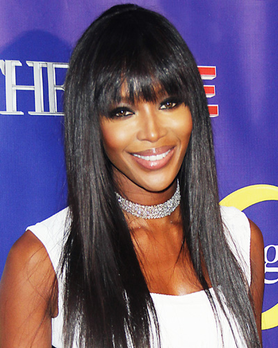Best Bangs - Naomi Campbell