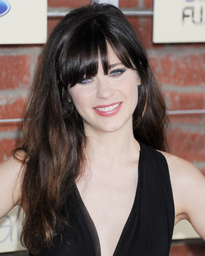 Best Bangs - Zooey DeschanelZooey Deschanel Bangs Cut