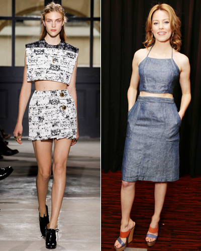Look of the Day photo   Cropped Tops