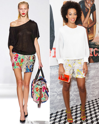 Look of the Day photo | Printed Shorts