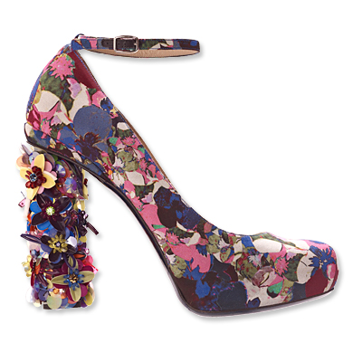 Nicholas Kirkwood for Erdem - pumps - we're obsessed