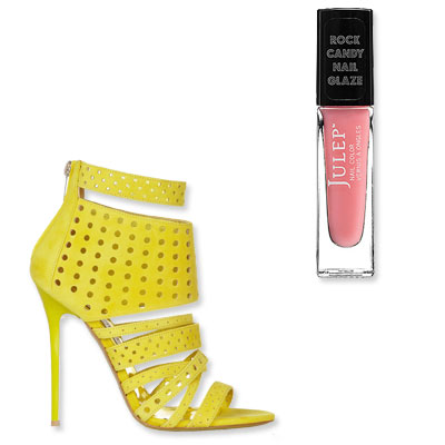 Bright Sandals - Summer 2013 Pedicure Ideas: The Perfect Nail Polish