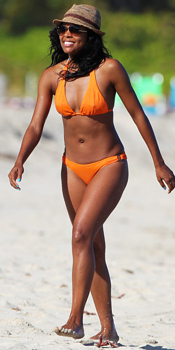 Gabrielle Union in a bright bikini