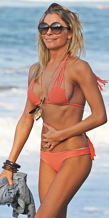 Leann Rimes in a cut-out bikini