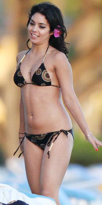Vanessa Hudgens in a printed string bikini
