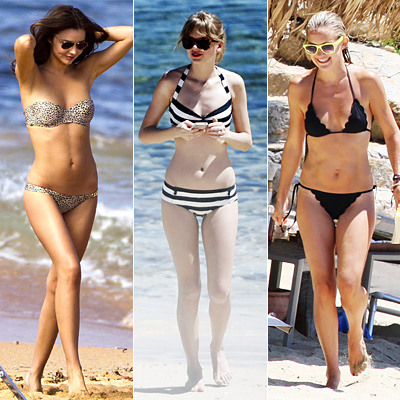 Whose Beach Look Is Your Favorite?