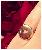 Instagram We Love: David Yurman's Rose Gold Pinky Ring
