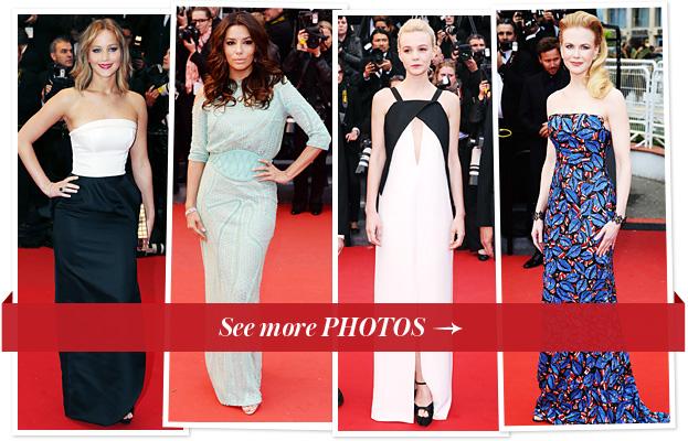 Jennifer Lawrence, Eva Longoria, Carey Mulligan, Nicole Kidman