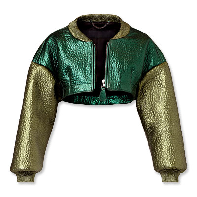 Burberry Prorsum - bomber - we're obsessed
