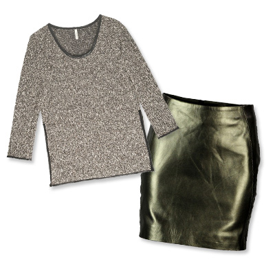 Look of the Day photo | Combo 2: Go for the Gold