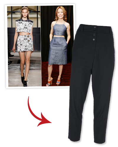 Look of the Day photo | Summer Trend: Cropped tops