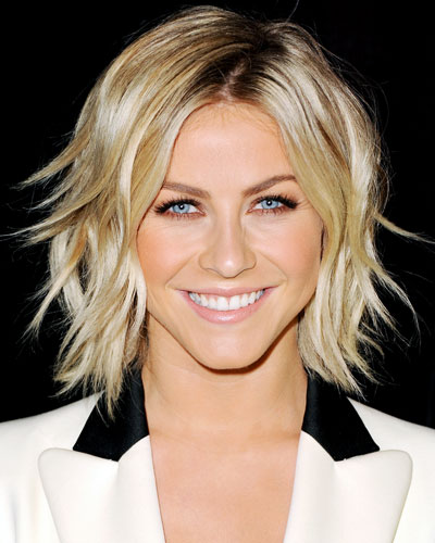 piecey hairstyles : Julianne Houghs Piecey Bob - Falls Hottest Hairstyles - InStyle.