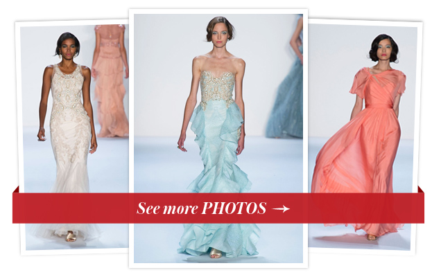 Badgley Mischka Spring 2014 - New York Fashion Week