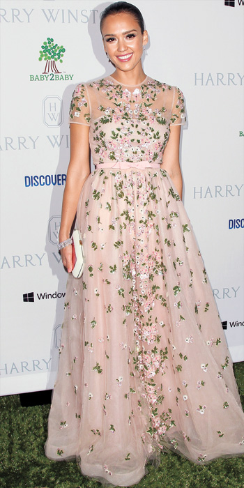 Jessica Alba 10 Best - In Valentino, 2012