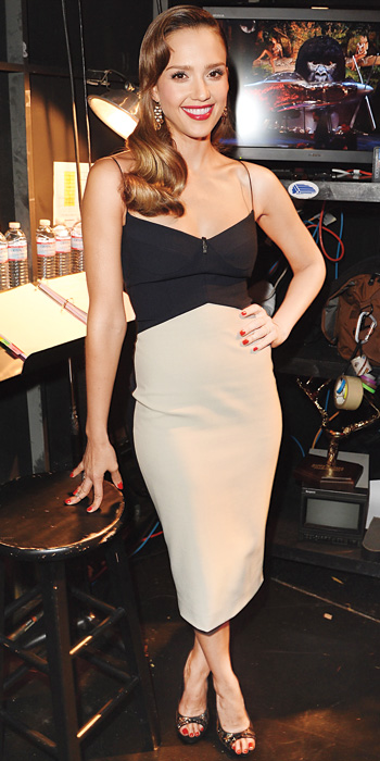 Jessica Alba 10 Best - In Narciso Rodriguez, 2013