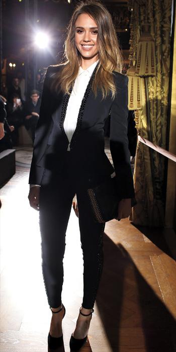 Jessica Alba 10 Best - In Stella McCartney, 2013