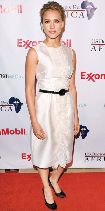 Jessica Alba 10 Best - In Dolce & Gabbana, 2009