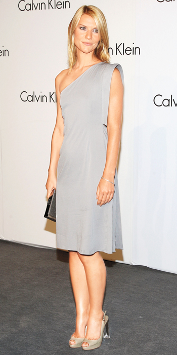Claire Danes 10 Best - Calvin Klein Collection, 2008